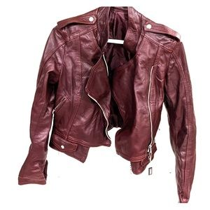 Italian Lamb leather jacket